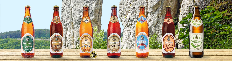 Brauerei-Gasthof Hartmann - Biere
