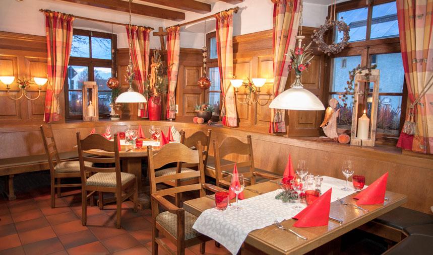 Weihnachten im Brauerei-Gasthof Hartmann
