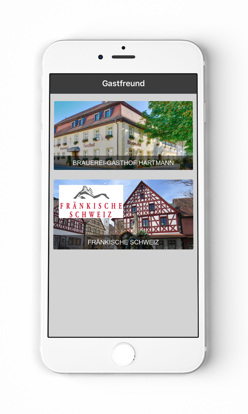 Gastfreund App Screen 3