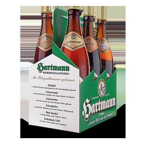 Brauerei Hartmann Sixpack